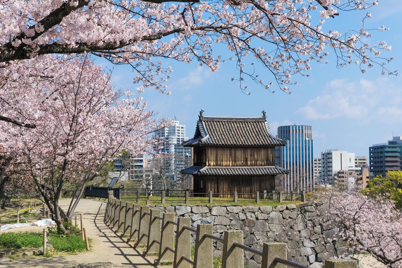 福岡県福岡市舞鶴公園