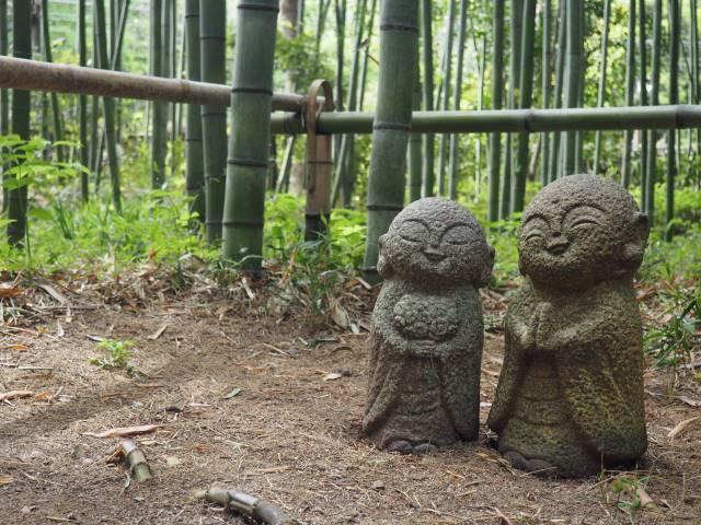 竹林のお地蔵さん
