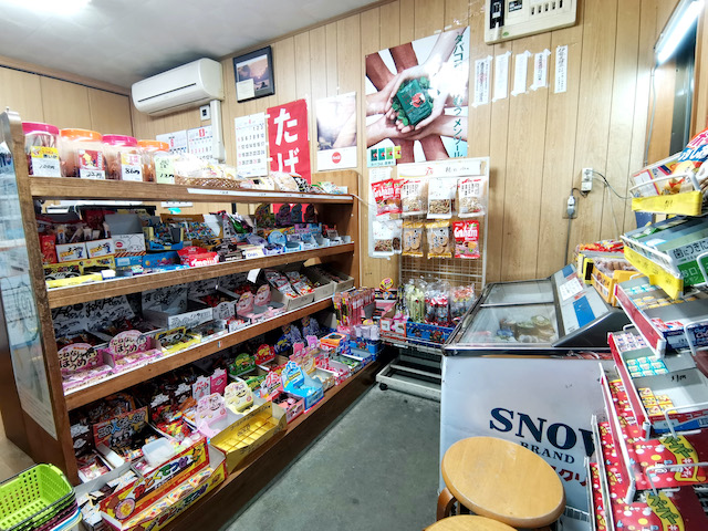 いながきの駄菓子屋探訪45三重県伊勢市みよしや6