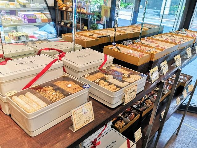 東京都・麹町「パティシエ・シマ」クッキー