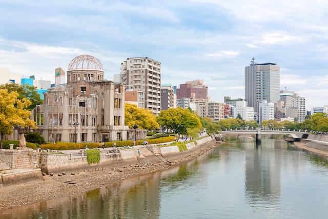 広島県広島市平和記念公園