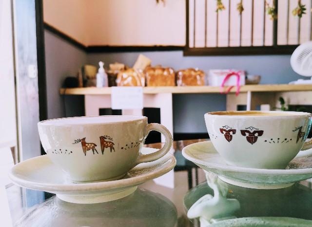 奈良県奈良市・自家焙煎コーヒーと店内で焼き上げる高級食パンの店「天迦久珈琲」ドリンク