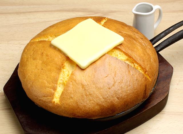 たまごカステラパンケーキ カルピスバター