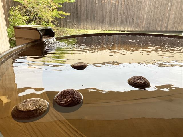界 遠州 お茶玉風呂