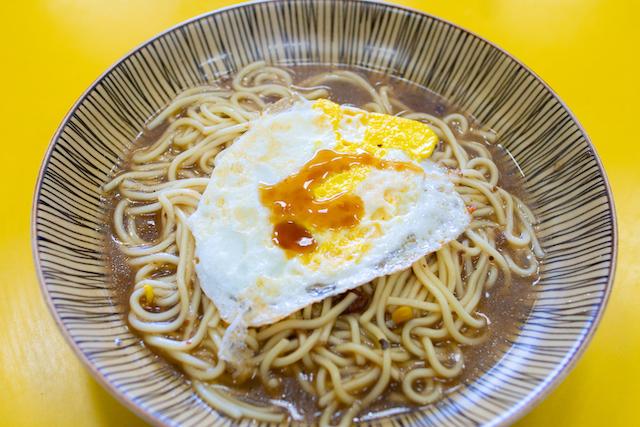 台湾式焼き麺「炒麺(チャオミエン)」
