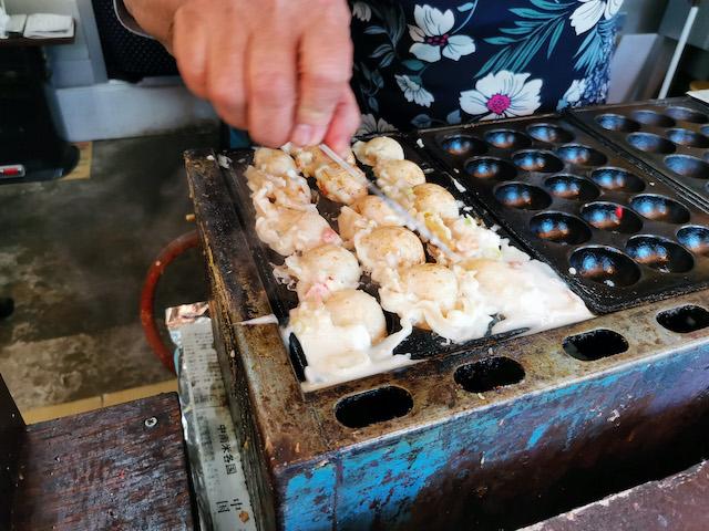 いながきの駄菓子屋探訪47東京都足立区ひばり6たこ焼き