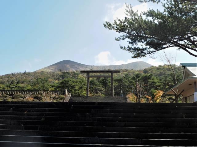 旧霧島神宮跡