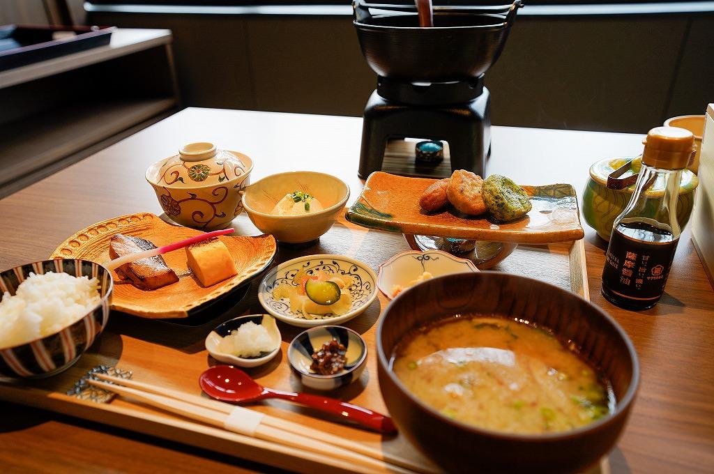 界 霧島の朝食