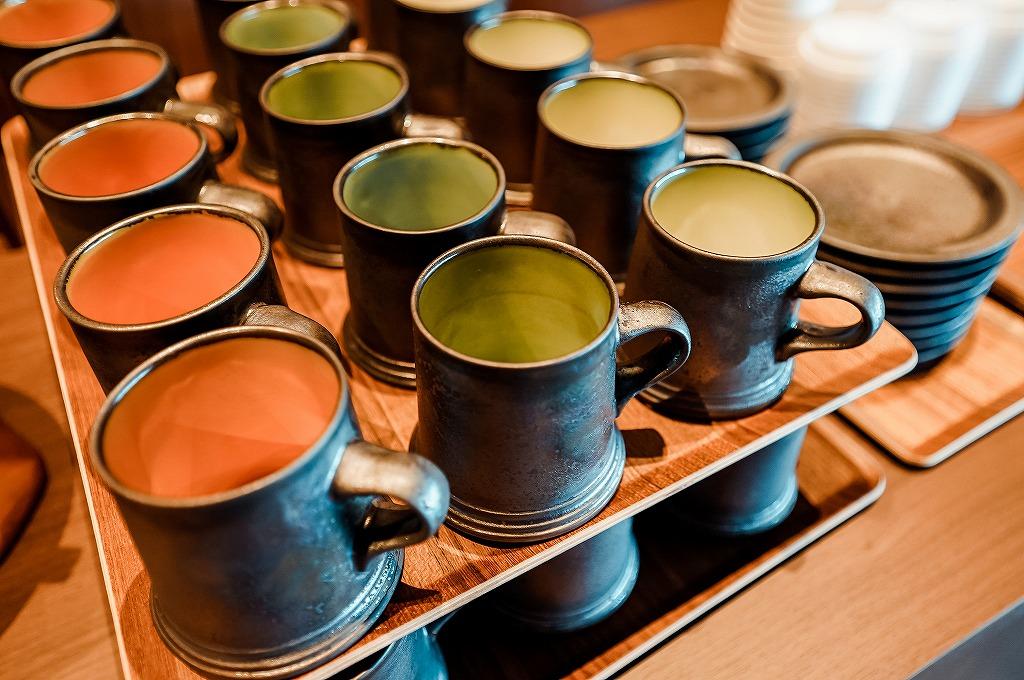 界 霧島のカップ