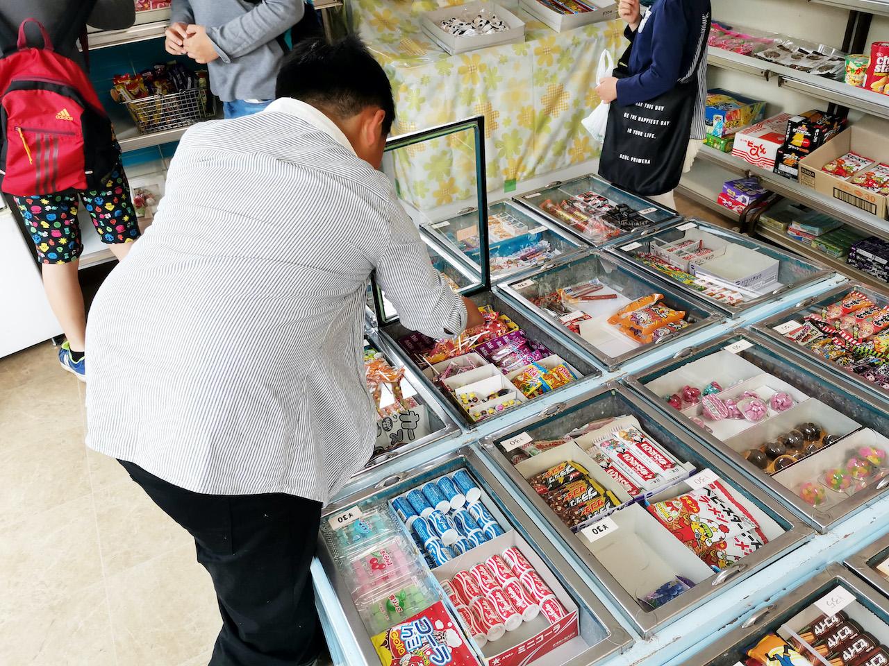 いながきの駄菓子屋探訪48岐阜県土岐市かえで商店4