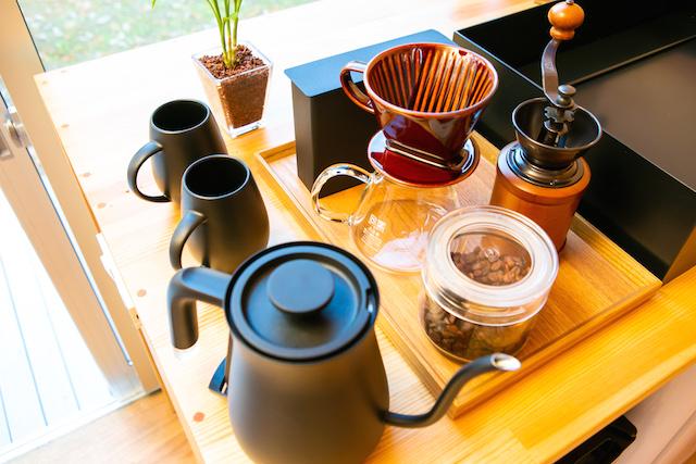 手挽きコーヒーミルセット