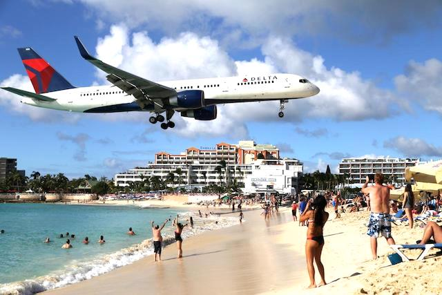 マホビーチ 飛行機