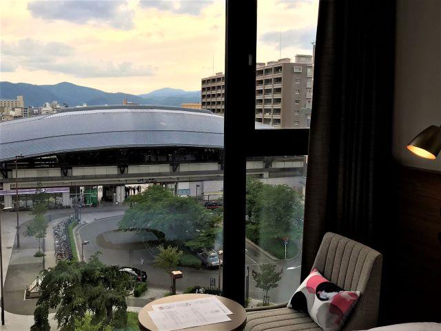 ザ ロイヤルパーク キャンバス 京都二条 客室からの眺め