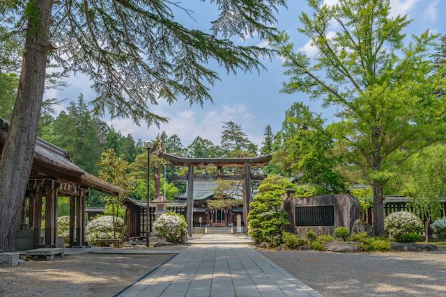山形県米沢市上杉神社