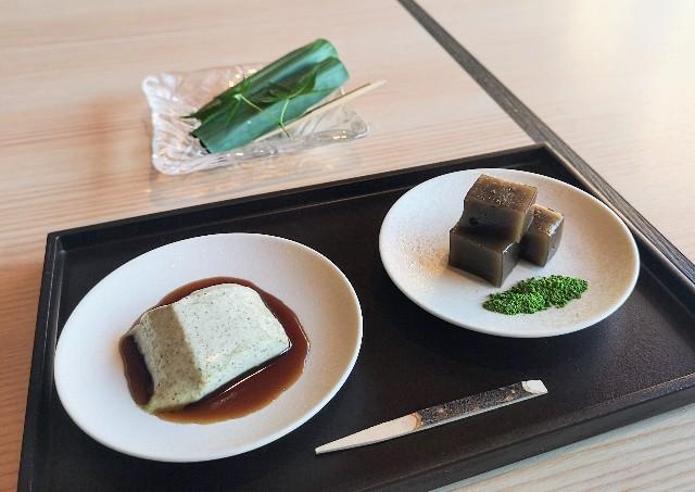 東京都・目黒「ホテル雅叙園東京」6月限定お茶のおもてなし(和菓子)2