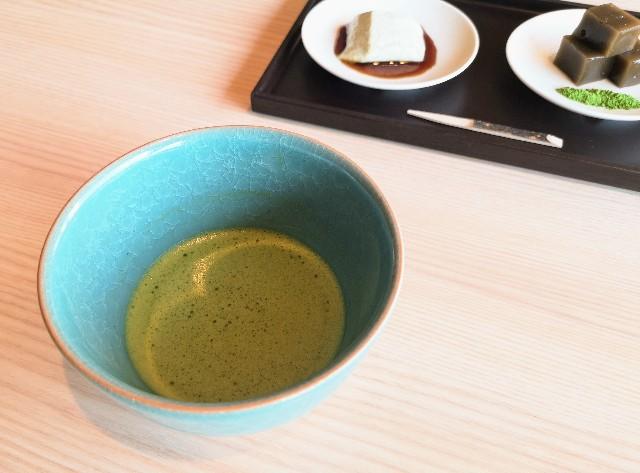 東京都・目黒「ホテル雅叙園東京」6月限定お茶のおもてなし(抹茶「雅の昔」)