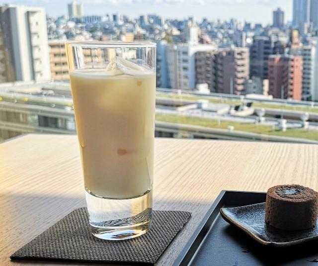 東京都・目黒「ホテル雅叙園東京」6月限定お茶のおもてなし(ほうじ茶Royal Milk Tee)