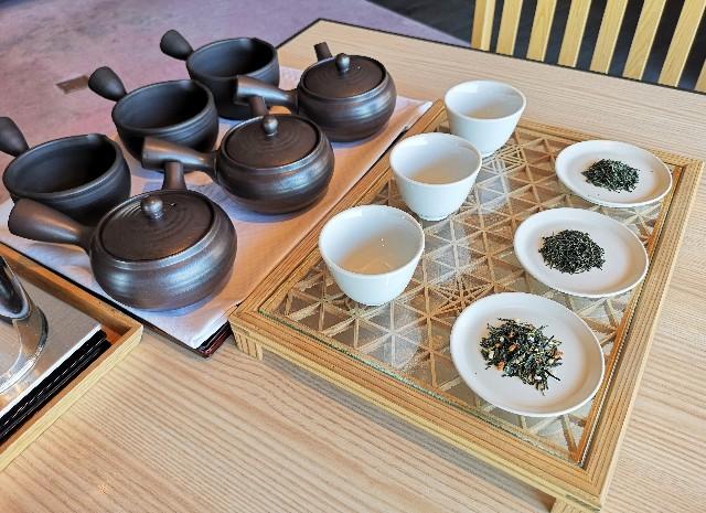 東京都・目黒「ホテル雅叙園東京」6月限定お茶のおもてなし(厳選3種のお茶飲み比べ)