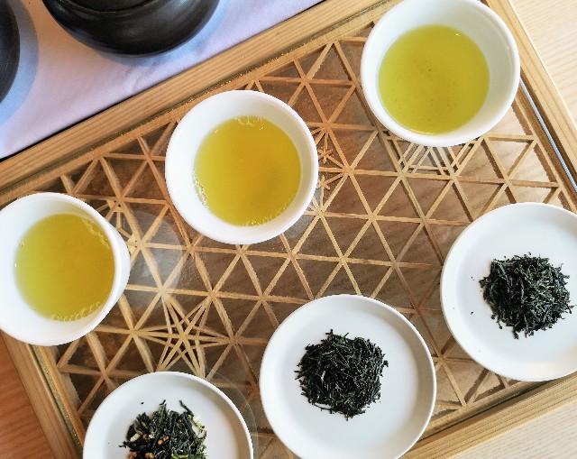 東京都・目黒「ホテル雅叙園東京」6月限定お茶のおもてなし(厳選3種のお茶飲み比べ)2
