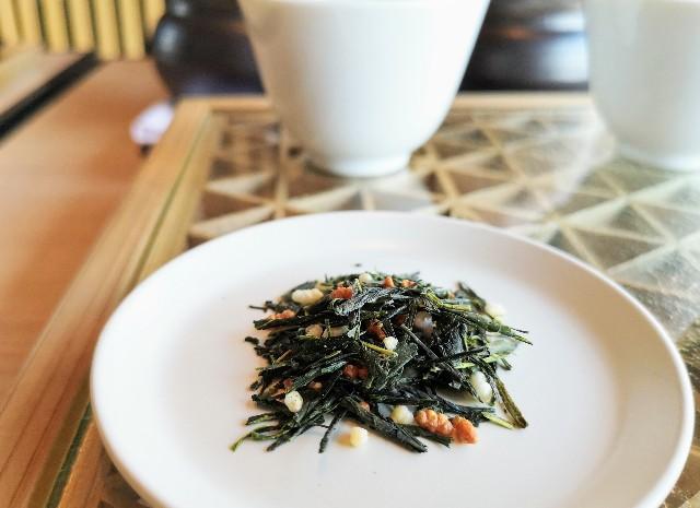 東京都・目黒「ホテル雅叙園東京」6月限定お茶のおもてなし(厳選3種のお茶飲み比べ)玄米茶