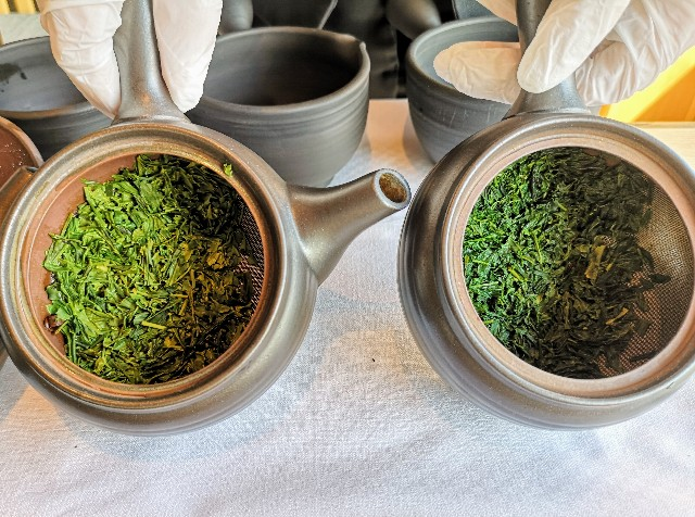 東京都・目黒「ホテル雅叙園東京」6月限定お茶のおもてなし(厳選3種のお茶飲み比べ)出がらし