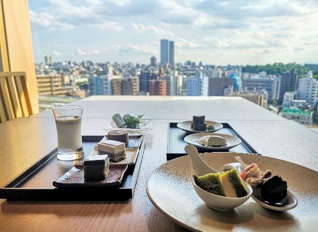 東京都・目黒「ホテル雅叙園東京」宿泊者専用エグゼクティブラウンジのお茶のおもてなし