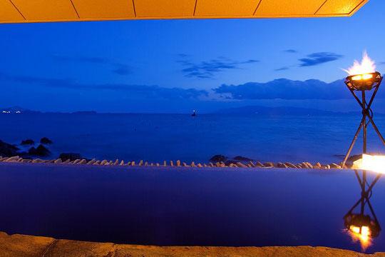露天風呂「岩海の湯」