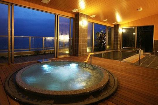 海の棟 展望浴場「昇陽の湯」