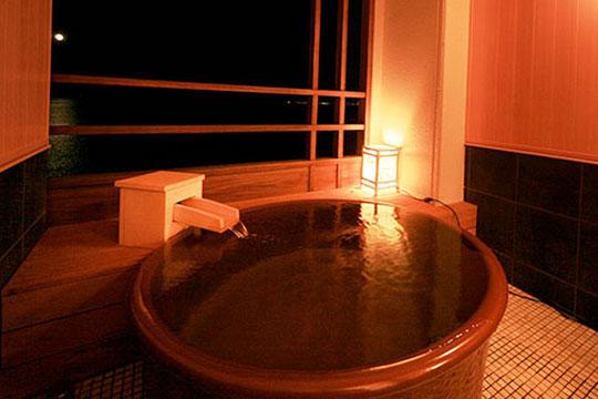 晴の棟 客室露天風呂付室(一例)