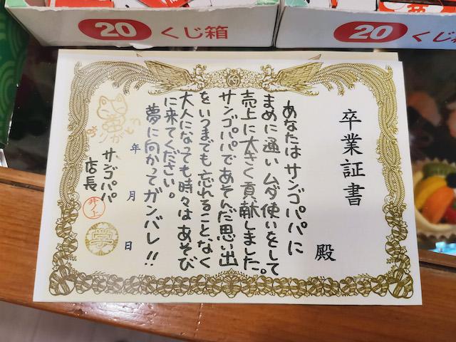 いながきの駄菓子屋探訪49栃木県下野市Sango-Papa9