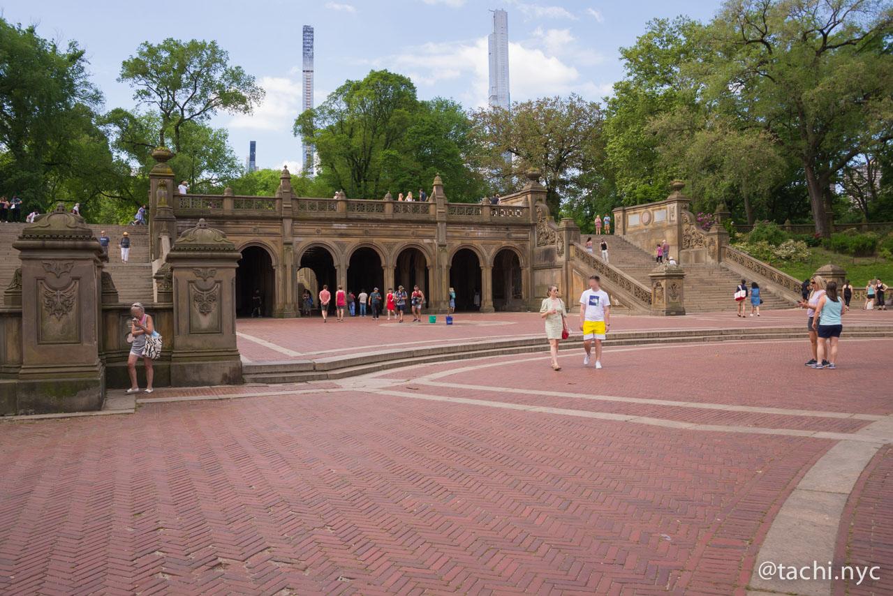 NYC セントラルパーク  (C) Hideyuki Tatebayashi
