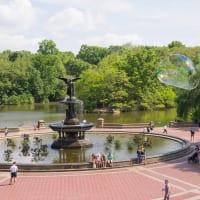 NYC  セントラルパーク ベセスダの噴水
