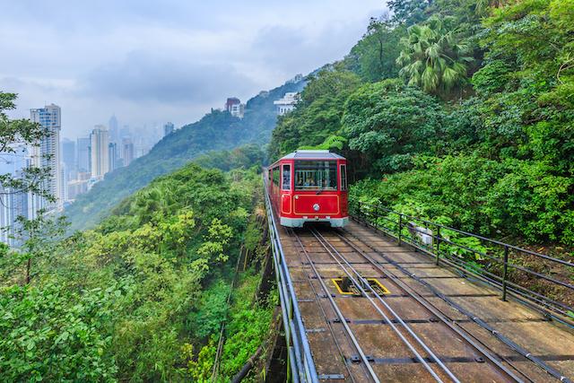 香港ビクトリアピークトラム