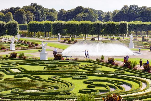 ヘレンハウゼン大庭園
