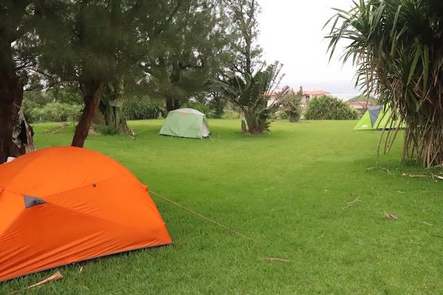 星の砂キャンプ場