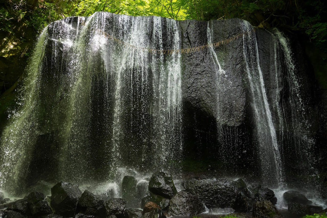達沢不動滝(福島県猪苗代町)