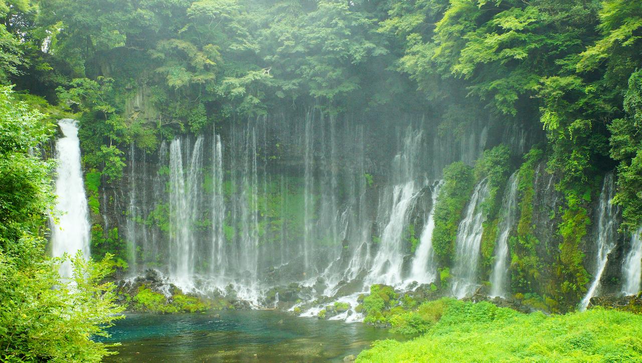 静岡県富士宮市白糸の滝