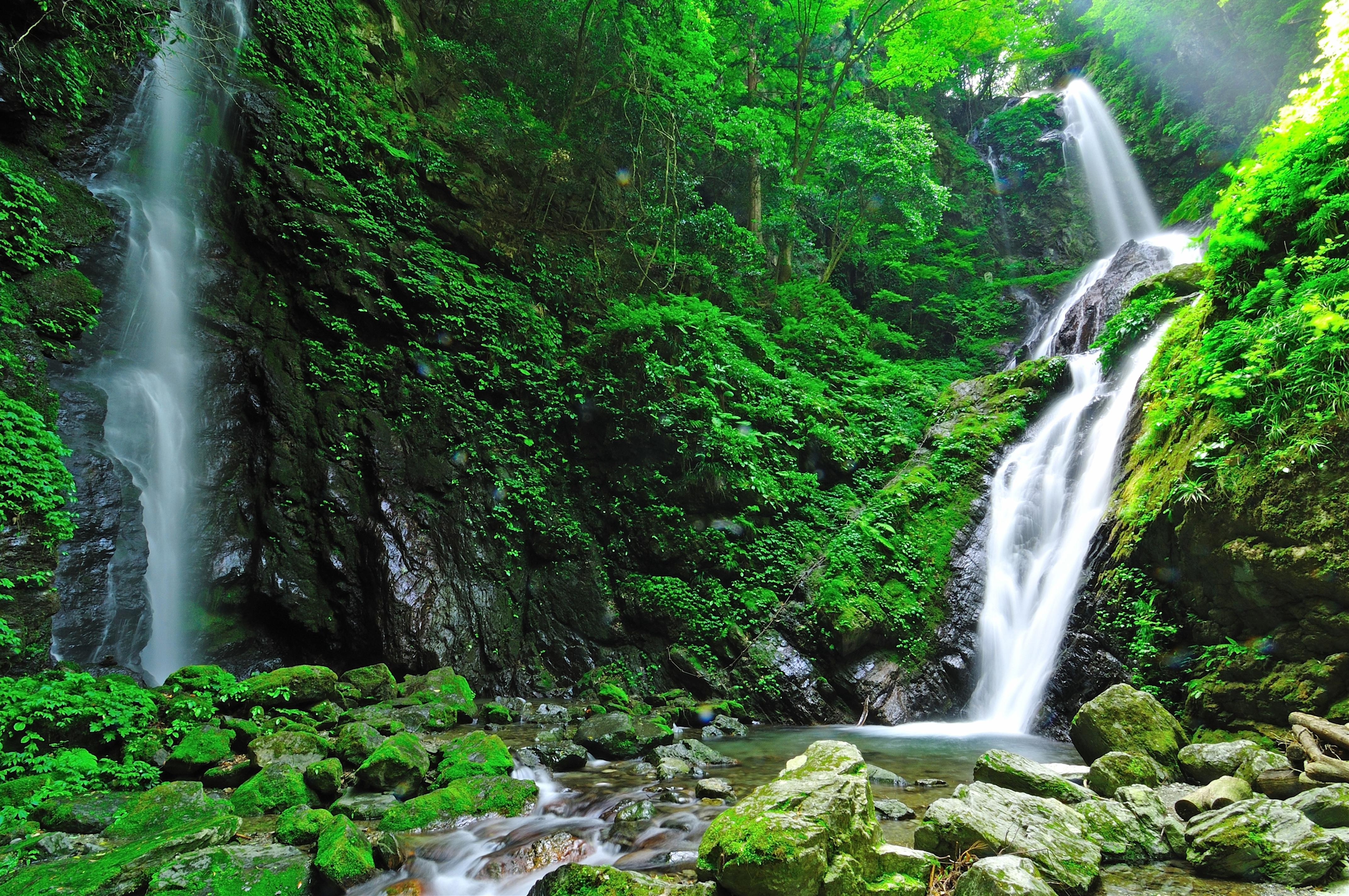 雨乞いの滝(徳島県)