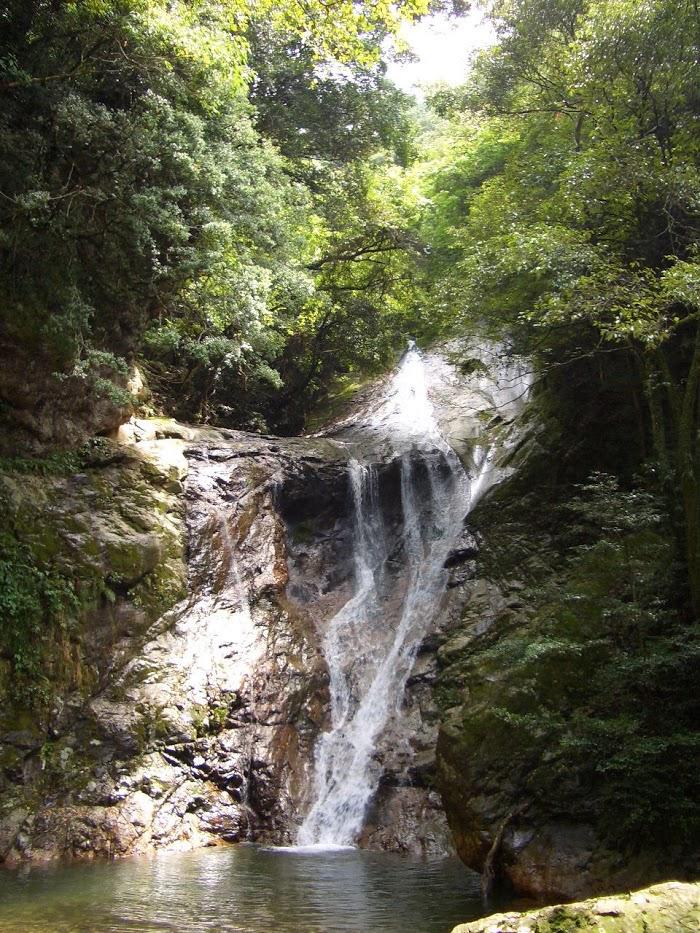 薬師谷渓谷・雪輪の滝