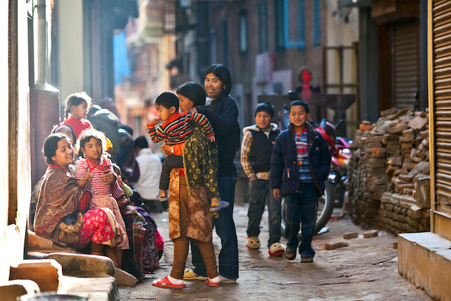 ネパールの子どもイメージ