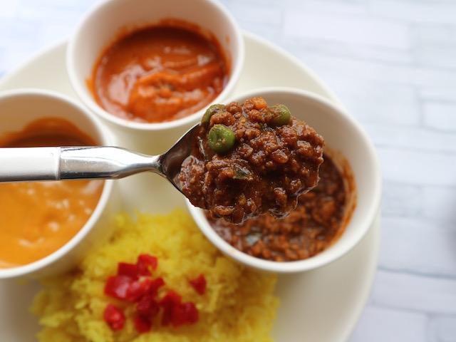 ラム挽肉のキーマカレー
