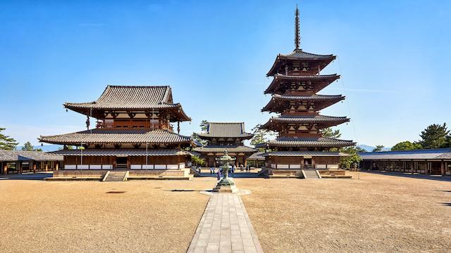 奈良県生駒郡法隆寺