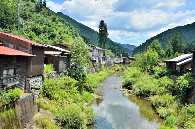 奈良県吉野郡洞川
