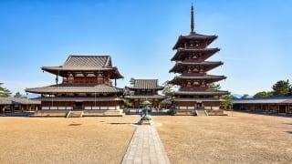 奈良県法隆寺