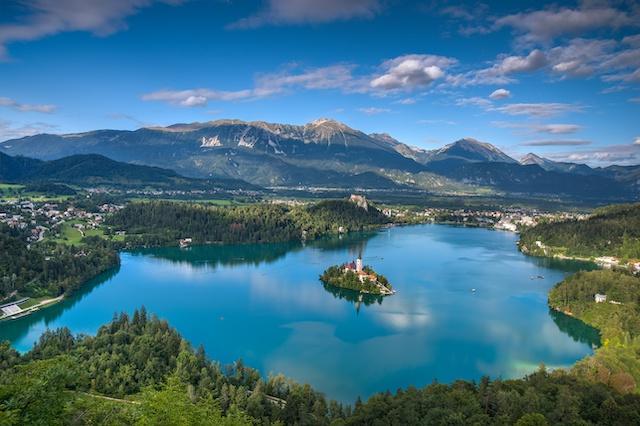 スロヴェニア・ブレッド湖2