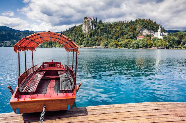 スロヴェニア・ブレッド湖4