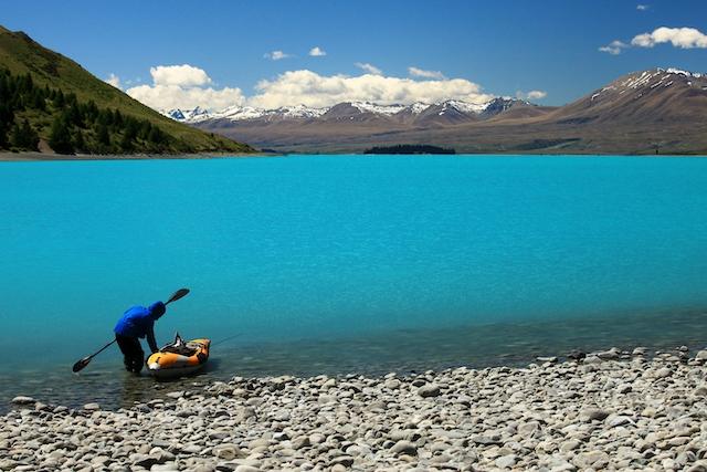 ニュージーランド・テカポ湖4