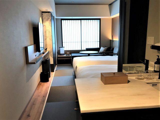 HIYORIチャプター京都トリビュートポートフォリオホテル 客室