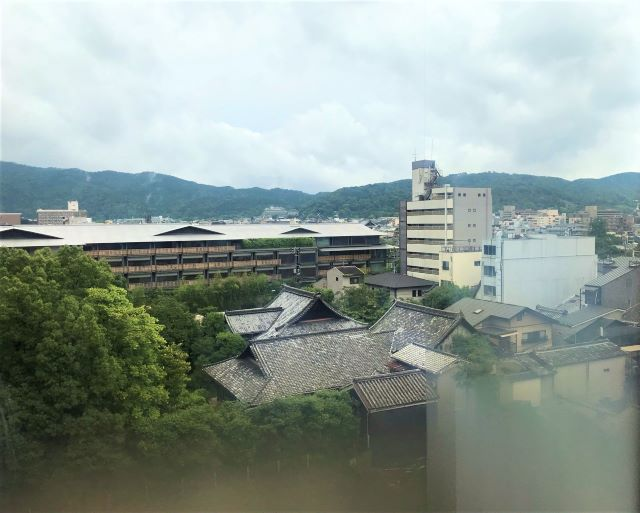 HIYORIチャプター京都トリビュートポートフォリオホテル スイートルームからの眺め