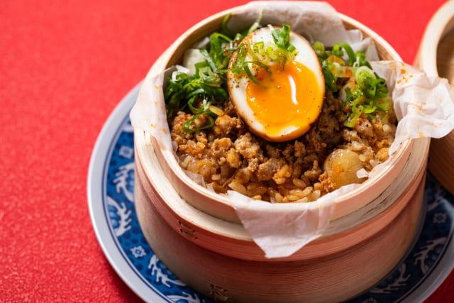 台北式豚ひき肉のおこわ